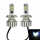 IN-Color CREE H4 60W 6000K 3000LM LED White Light Car Headlamp / Foglight (2PCS / 8~48V)