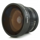 3-in-1 0.42X Wide Angle / Fish Eye / Macro Lens for IPHONE + Samsung + More - Black
