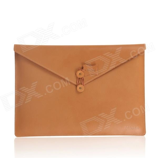 oushine-retro-split-leather-file-computer-liner-bag-for-116-macbook-air-brownish-yellow