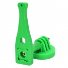 Plastic + Aluminum Alloy Screw + Wrench + Mount Adapter for Gopro Hero 4/ 2 / 3 / 3+ - Green