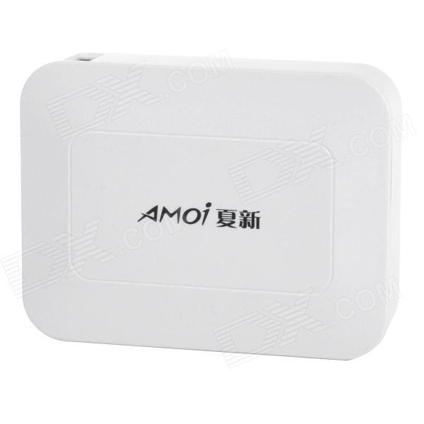 Amoi X118 10400mAh USB Port External Li-ion Mobile Power Bank - White