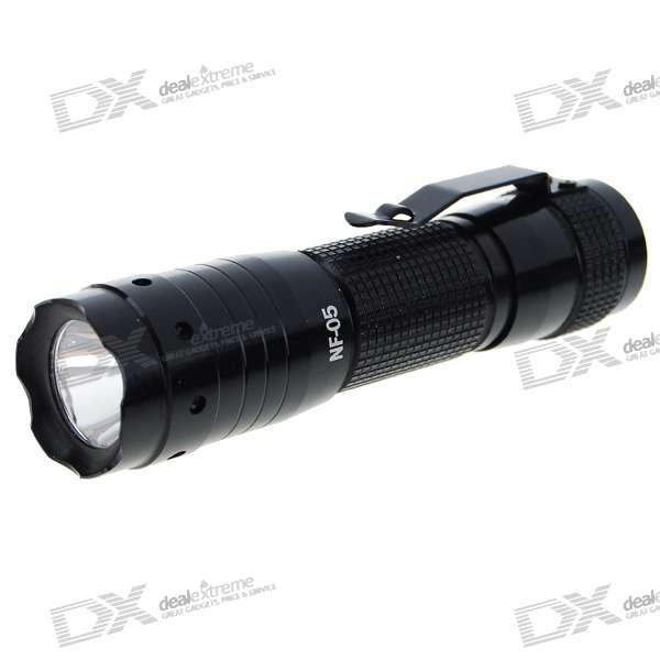 NF-05 3W 30-Lumen LED Flashlight with Clip (1*AA)