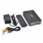 MX60 Dual Core Android 4.2.2 Google TV Player w / 1Go RAM / ROM 8GB / WiFi / TF / HDMI - noir