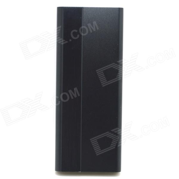 3000mAh 5V Li-Polymer Battery Power Bank - Black