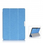 Protective PU Leather Case Cover w/ Magnetic Closure for Samsung Galaxy Tab S 10.5 - Blue