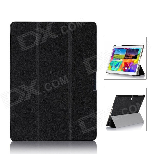 Protective PU Leather Case for Samsung Galaxy Tab S 10.5 - Black