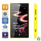 "Refurbished NOKIA Lumia 520 Windows Phone 8 Dual-core WCDMA Phone w/ 4.0"" Screen, ROM 8GB - Yellow"