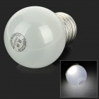 E27 0.8W 120lm 6000K 14-LED White Light Lamp Bulb - White (AC 220V)