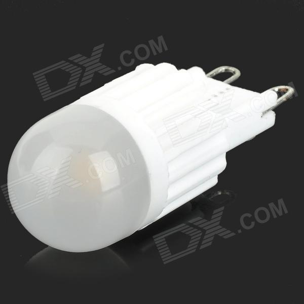 JRLED G9 2.5W 160lm 3000K 1-SMD 5050 LED Warm White Dimmable Mini Bulbo - Branco (AC 220V)