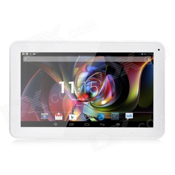 "10.1"" Screen A33 Dual-Core Android 4.4.2 Tablet PC w/ 512MB RAM, 8GB ROM, Wi-Fi - White"