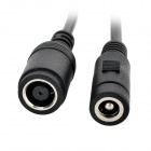LX-0714 7.9 x 5.5mm / 5.5 x 2.5mm DC Power Adapter Cable Set for Lenovo / IBM Laptops - Black
