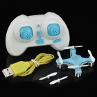 CHEERSON CX10 2.4GHz 4-CH Remote Control Quadcopter w/ Gyro - Blue + White (2 x AAA)