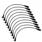 CRC9 to FME Adapter Cable - Black (10 PCS / 22cm)