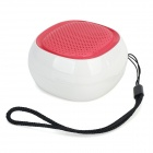 HY HY-BT75 Bluetooth V2.0 Speaker w/ FM / Microphone / TF / Micro USB - Deep Pink + White