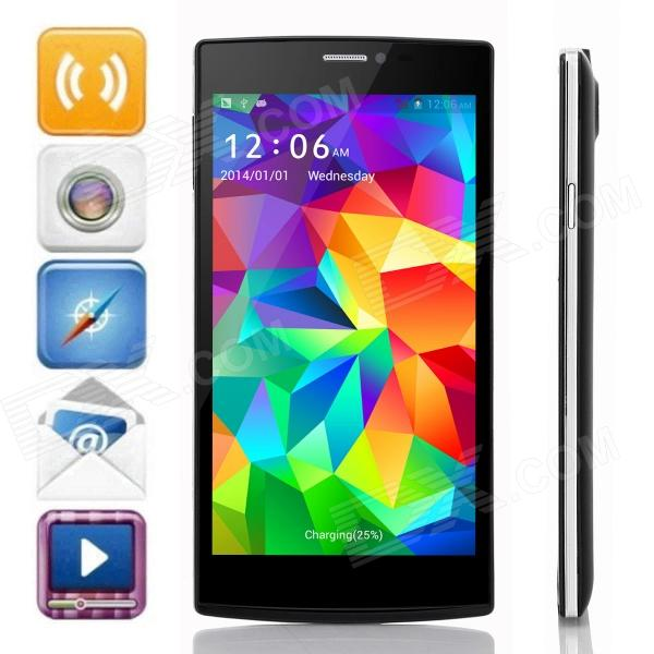 JIAKE V6 MTK6582 Quad-Core Android 4.2.2 WCDMA Bar Phone w/ 5.5 QHD, 8GB ROM, Wi-Fi, GPS - Black cn688a 178 364 564 564xl 4 slot 688 printhead for hp 3070 3520 3521 3522 3525 5510 5514 5520 5525 4610 4620 4615 4625 print head