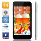 "F1W(F1) MTK6572 Dual-Core Android 4.2.2 WCDMA Bar Phone w/ 5.0"" Screen, 2GB ROM, Wi-Fi, FM, GPS"