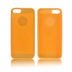 Angibabe 0.3mm Protective TPU Jelly Phone Case for IPHONE 5 / 5S - Orange