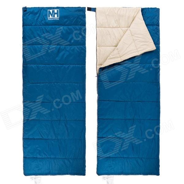 NatureHike NH15A150-D Envelope Shape Ultra Light Outdoor Camping Sleeping Bag - Blue
