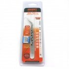 JM-T6 Stainless Steel Anti-fatigue Curved Tip Tweezers - Silver