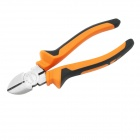 "YDL-CT1-2 6"" Industrial-Grade CR-V + Rubber Diagonal Pliers - Orange + Black + Silver"