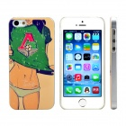 Sexy Football Girl Design Pattern Plastic Hard Back Case Cover for IPHONE 5 / 5S