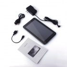 "Venstar 700 7"" Dual Core Android 4.2 Tablet PC  w/ 4GB ROM / TF / Camera / Wi-Fi / G-Sensor - Black"