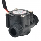 YF-S201 Water Heater DN15 Water Flow Sensor - Black