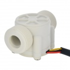 "YF-S403 3/4"" Water Flow / Hall Sensor - White + Black"