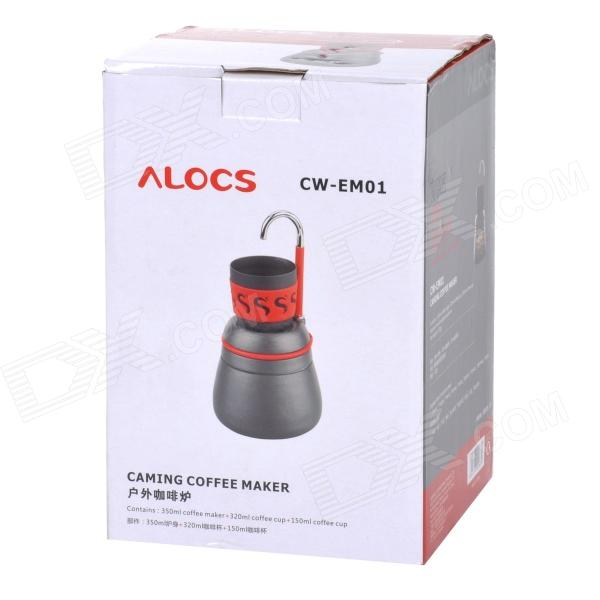 Coffee Maker Handy : ALOCS CW-EM01 Handy Portable Outdoor Coffee Maker for Camping - Deep Grey (350mL) - Free ...