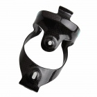 ZIQIAO BCF-1301 Carbon Fiber Water Bottle Bracket Holder for Bicycle - Black + Blue