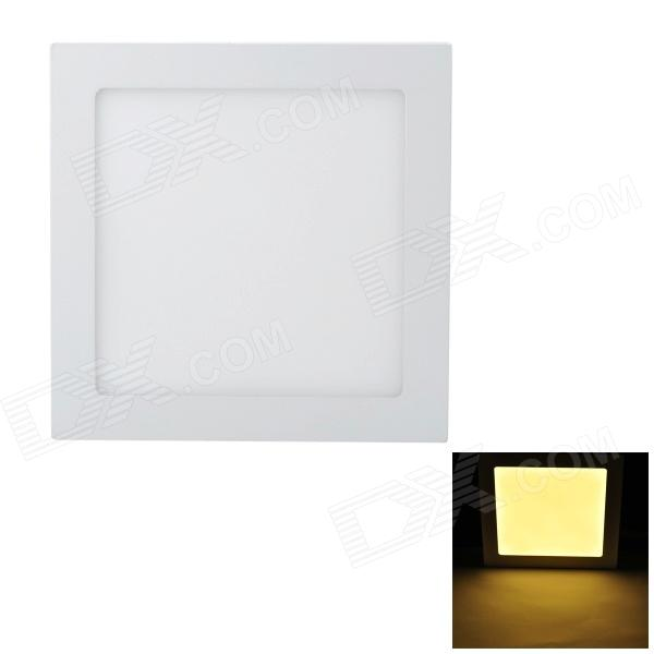 Marsing 18W 1600lm 3200K 90-SMD 2835 LED Warm White Panel Ceiling Lamp - White (85~240V)