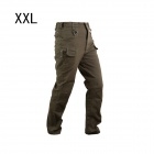 ESDY ESDY-930 Men's Casual Cotton Trousers - Army Green (Size XXL)