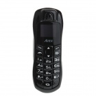 "AIEK A9 Sports Car Shaped Mini GSM Phone w/ 0.8"" LCD, Quad-band, Bluetooth V3.0 - Black"