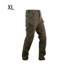 ESDY ESDY-931 Men's Casual Cotton Trousers / Pants - Army Green (Size XL)