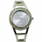 Fashion Round Crystal Dial Quartz Bracelet Watch for Women - Purple + Silver (1 x LR626)