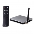 AT-919 Android 4.2.2 Quad-Core Mini PC TV Box Player w/ 1GB RAM, 8GB ROM, Wi-Fi, TF - Silver