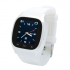 "CHEERLINK M26 1.47"" Touch Screen Bluetooth V3.0 Smart Phone Watch w/ SMS / Alarm / Pedometer - White"