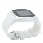 "CHEERLINK M26 1,47"" Touch Screen Bluetooth v 3.0 Smart Phone Watch w / SMS / alarme / Pedometro - branco"