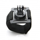 JUSTONE 3D Printing Wristband Mount for Camera / GoPro Hero 2 / 3 / 3+ / SJ4000 - Black