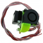 Heacent 0.4mm Nozzle 1.75mm Filament MK8 Extruder for Makerbot / RepRap / Mendel / i3 DIY 3D Printer