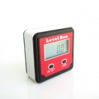 ZnDiy-BRY XB-90 1.4'' Digital Level Box  / Level Angle Gauge Protractor - Red