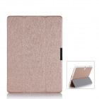Protective PU Leather Case Cover w/ Magnetic Closure for Samsung Galaxy Tab S 10.5 - Golden