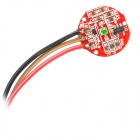 Pulse / Heart Rate Sensor Module for Arduino - Red (Works with Official Arduino Boards)