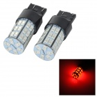 Buy SENCART 7443 /T20 10W 25lm 700nm 5730 SMD LED Red Light Car Brake / Steering Lamp (/ DC12~16V)