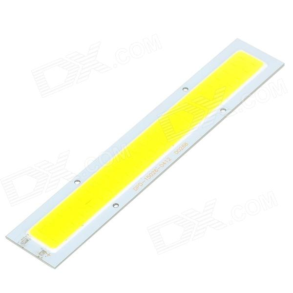 JRLED 12W 700lm 6500K 48-COB LED White Light Module - White + Light Yellow (DC 12V)