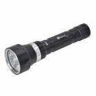 SolarStorm DX4  4 x Cree XM-L U2 2400lm 3-Mode White Diving Flashlight - Black (2 x 18650 / 26650)
