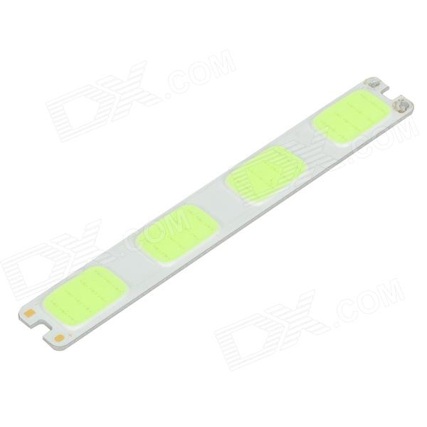 JRLED JR-LED-4W-W 4W 230lm 480nm 48-COB LED Ice Blue Light Module - White + Light Green (DC 12V)