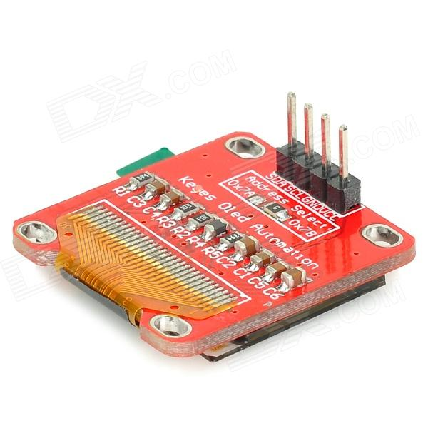 0.96 OLED High Clear Module Board for Arduino - Red imported from microview oled module chip size module