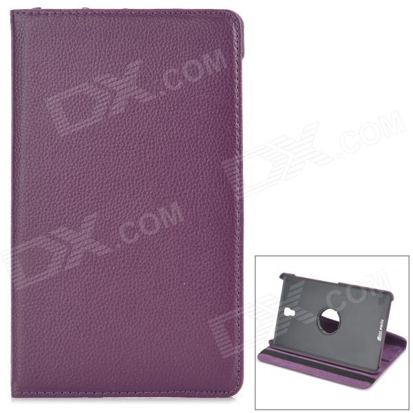 все цены на 360' Rotary Flip Open PU Case w/ Stand for 8.4'' Samsung Galaxy Tab S T700 / T705C - Purple
