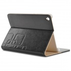 Protective PU Flip Open Case w/ Stand for 7.9'' Xiaomi Tablet PC - Black